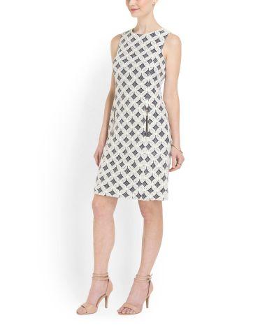 Sleeveless Woven Lace Dress - Dresses - T.J.Maxx