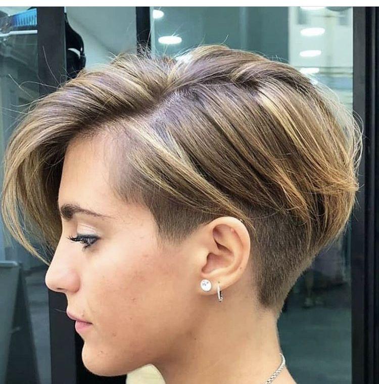 Bixie Cut Pixie Bob Fryzura W 2019 Krótkie Włosy Włosy
