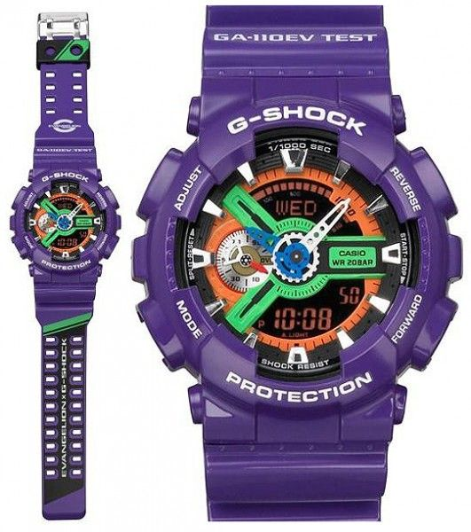 d127cde79b39 G-Shock Evangelion will be the G-Shock to own~!