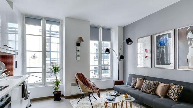 Appartement Paris  Dco Chaleureuse Et Fonctionnelle Dans Un  M