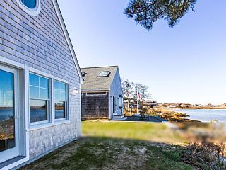 Waterfront with Outstanding Views, Main and Guest House Complex, Swim, Kayak, Spectacular Sunsets, Expansive Slate Patio at Water's Edge, A/C, WiFiVacation Rental in Edgartown from @homeaway! #vacation #rental #travel #homeaway