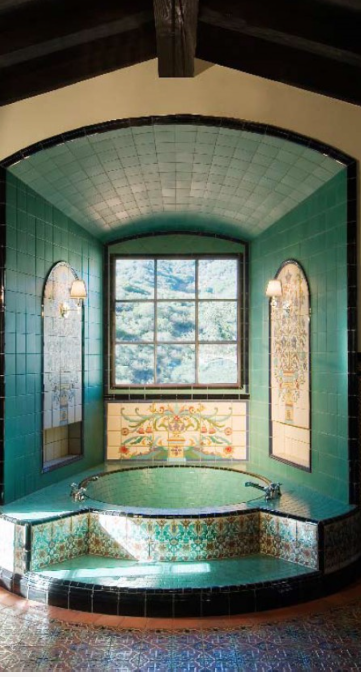The French Ranch, a beautiful example of period, over the top tile ...