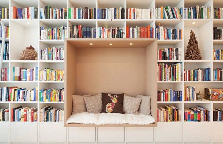 Bibliothèque Maison 16 Idées Pour Créer Un Espace De