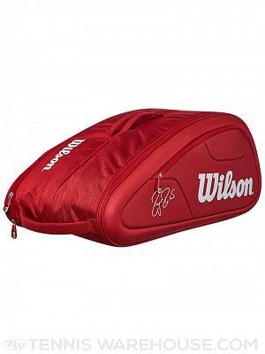 Wilson Federer DNA Collection 12 Pack Bag Red