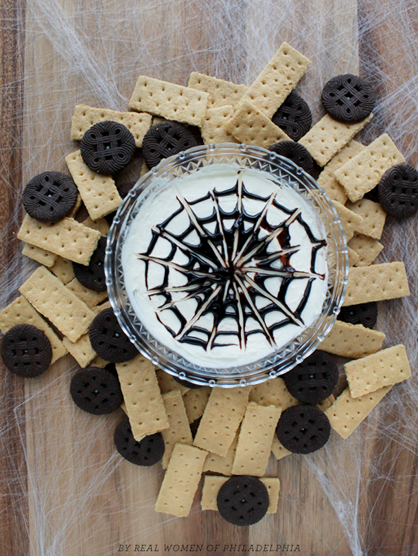 Spooky Halloween Spiderweb Dip Recipe
