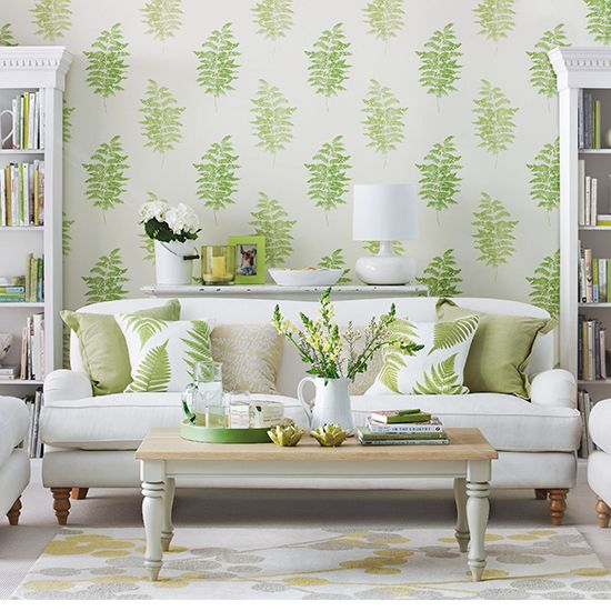 Decorating with spring colours –Spring colours – Colourful rooms