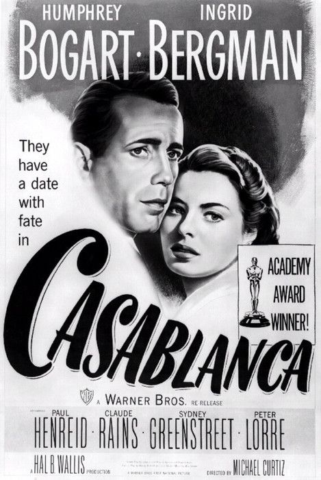 Pin By Toshio Yoshioka On Ideas Casablanca Movie Old Movie Posters Classic Movie Posters