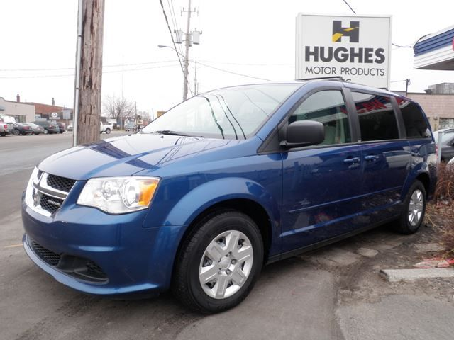 This 6 Cylinder Fwd 11 Dodge Caravan Has Very Low Mileage