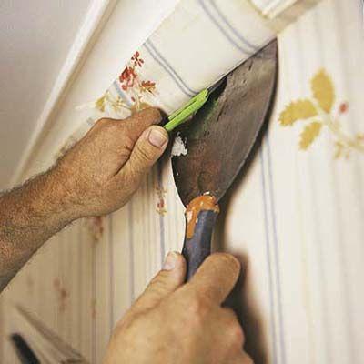 How To Hang Wallpaper How To Hang Wallpaper Diy Wallpaper Wallpaper Furniture