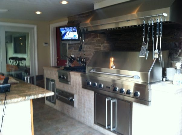 Indoor Outdoor Grill Room Kitchen Designs Decorating Ideas Hgtv Rate My E