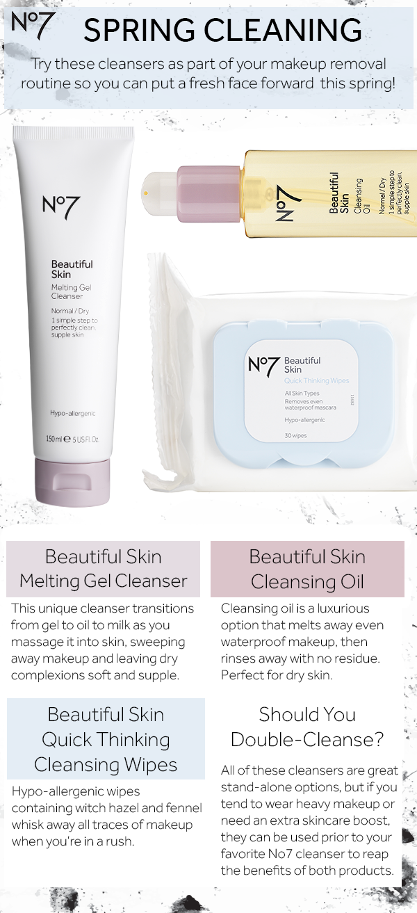 Boots No7 Beautiful Skin Cleansing Water Walgreens Skin Cleanser Products No7 Beautiful Skin No7 Skincare