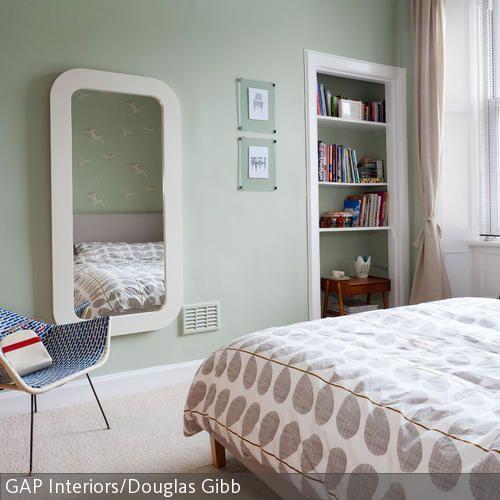 Schlafen \ Träumen Einrichtungsbeispiele, Wandfarbe und Teilchen - wandfarbe im schlafzimmer