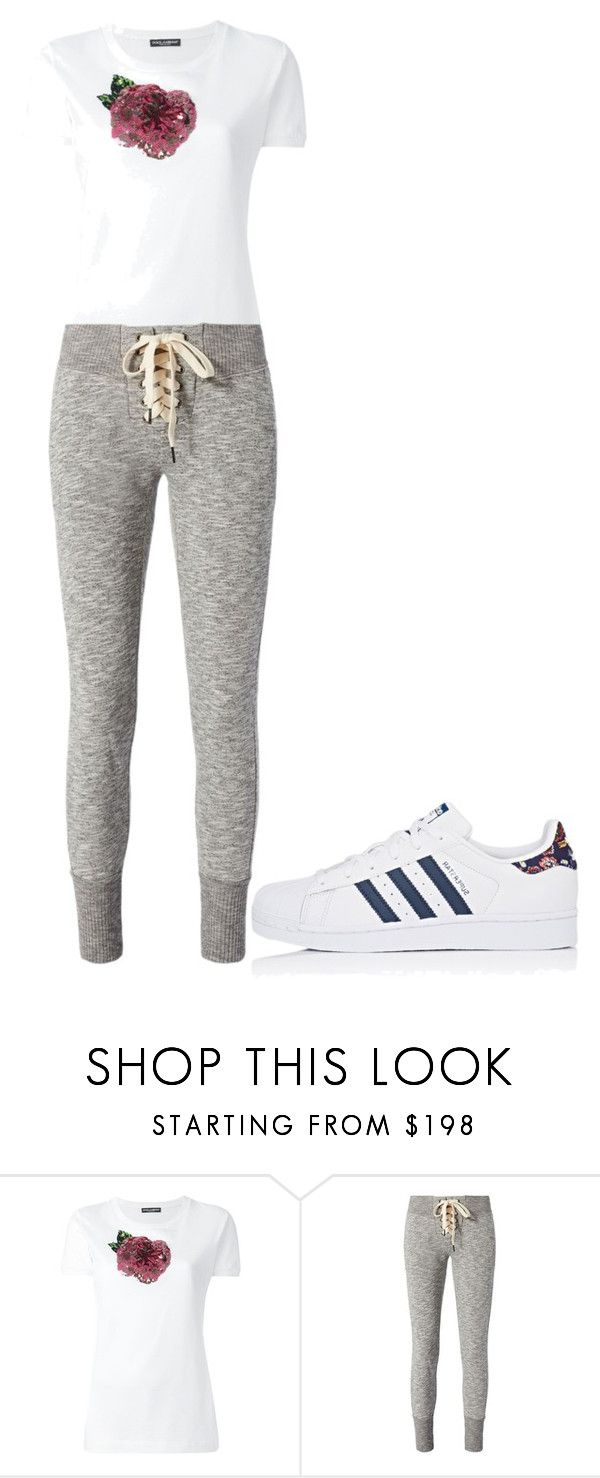 """""""Untitled #26188"""" by edasn12 ❤ liked on Polyvore featuring Dolce&Gabbana, NSF and adidas"""