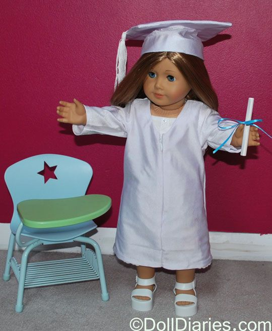 1412098e745 American Girl Graduation Gown and Cap