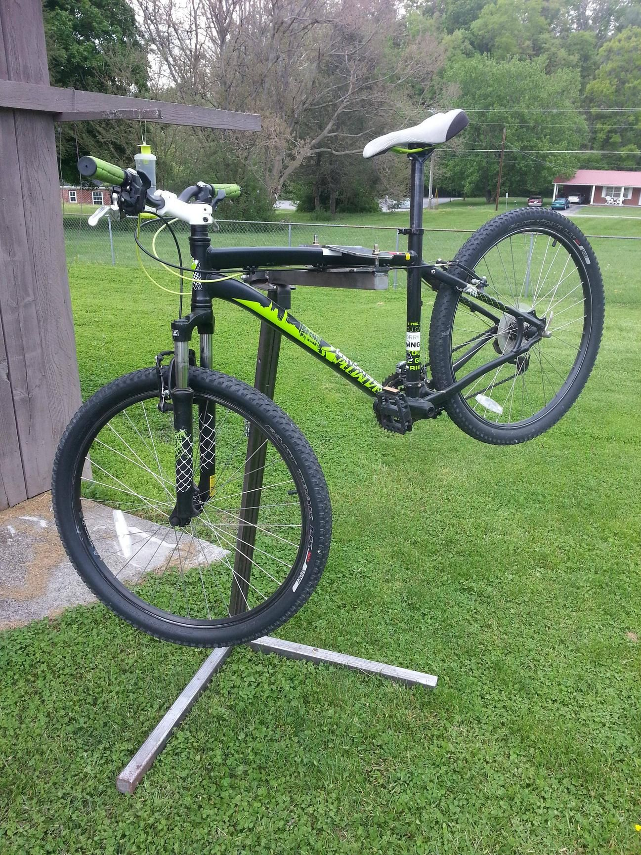 Home Made Bike Work Stand Bike Work Stand Bicycle Work Stand Bike