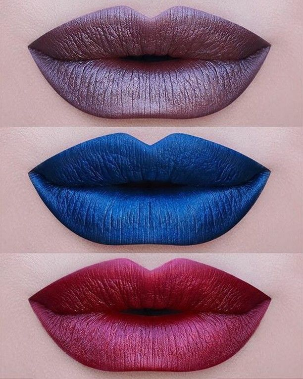 Gemma Perlees Lipstick: 'Third Eye' Matte-Metallic #Perlees