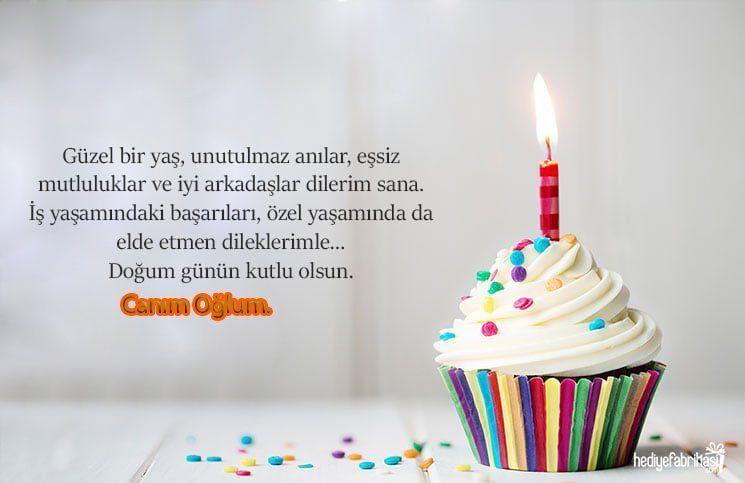 Anneden Ogluna Dogum Gunu Mesaji Birthday Candles Birthday Candles