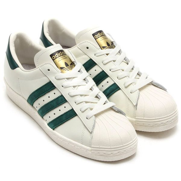 new arrivals aa5a3 d8f77 Adidas Superstar Green Stripe aoriginal.co.uk