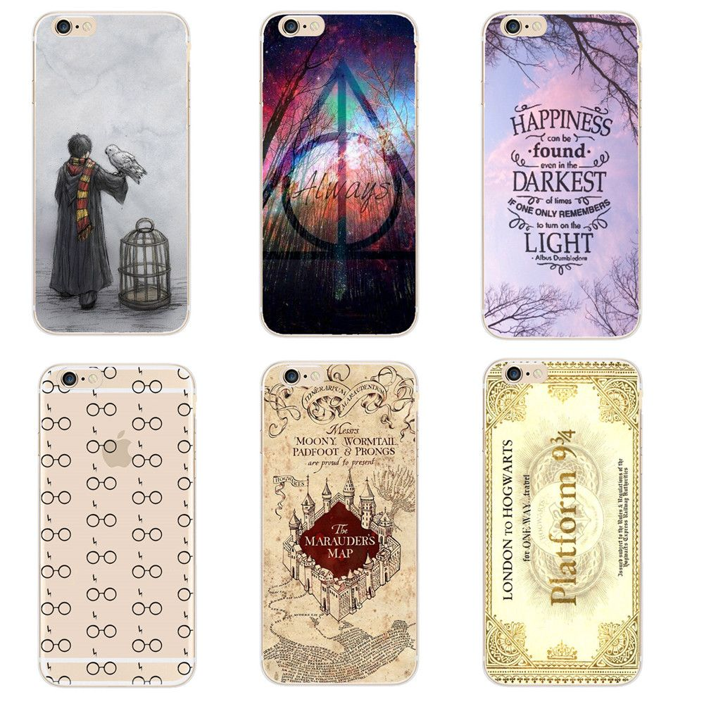 coque silicone iphone 7 harry potter