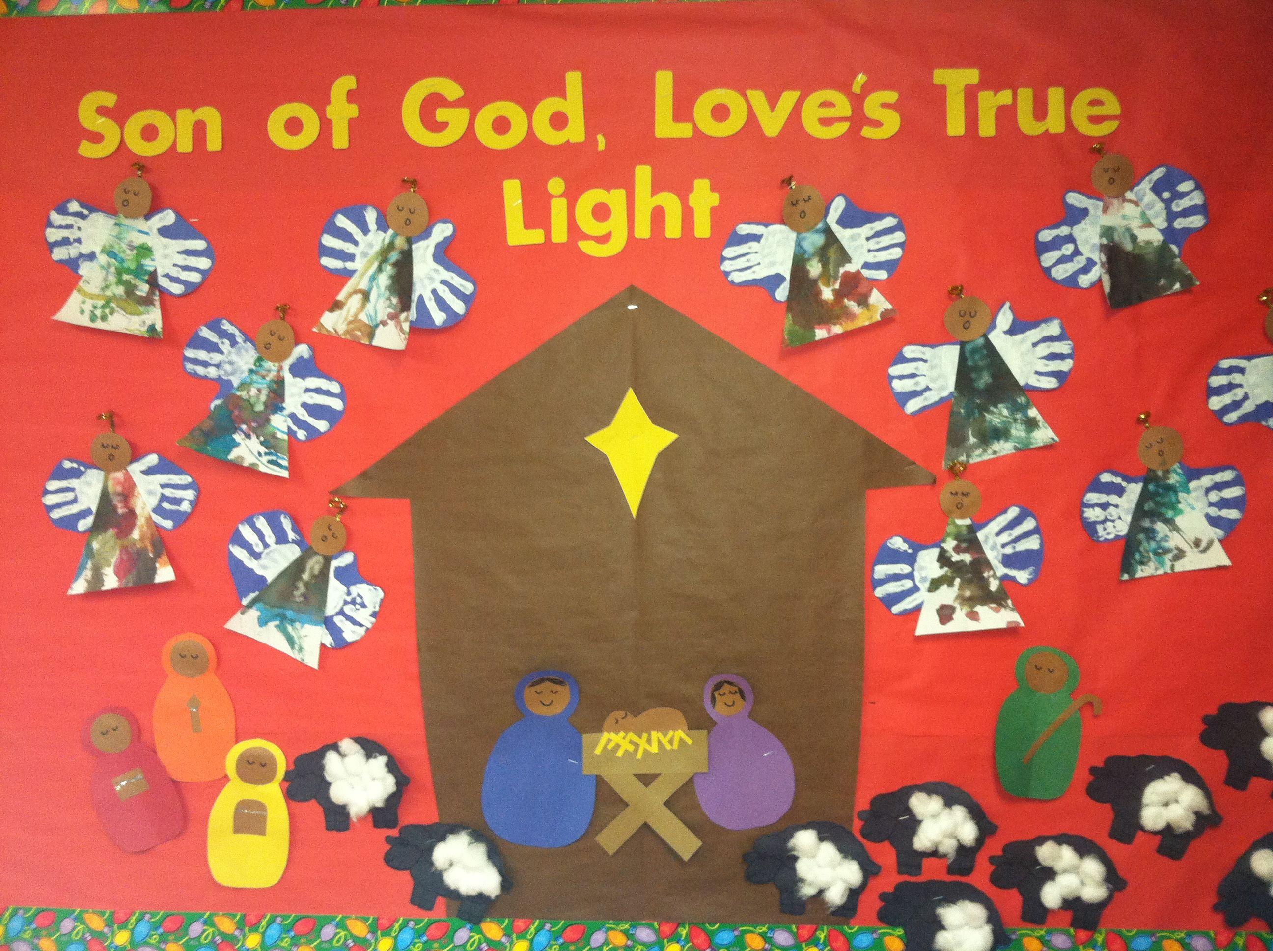 Christmas Bulletin Board By The Wonderful Mrs Amanda