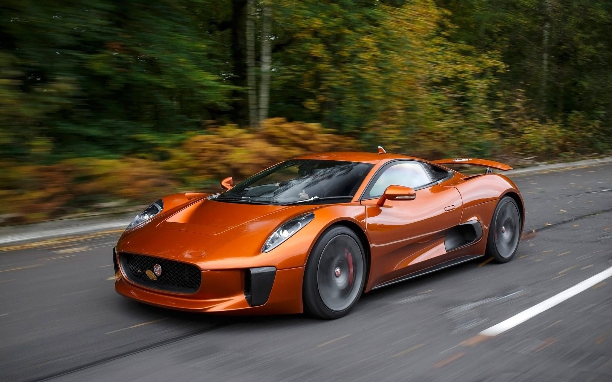 Jaguar Cx75 Electric Sports Car Bond Cars Concept Cars