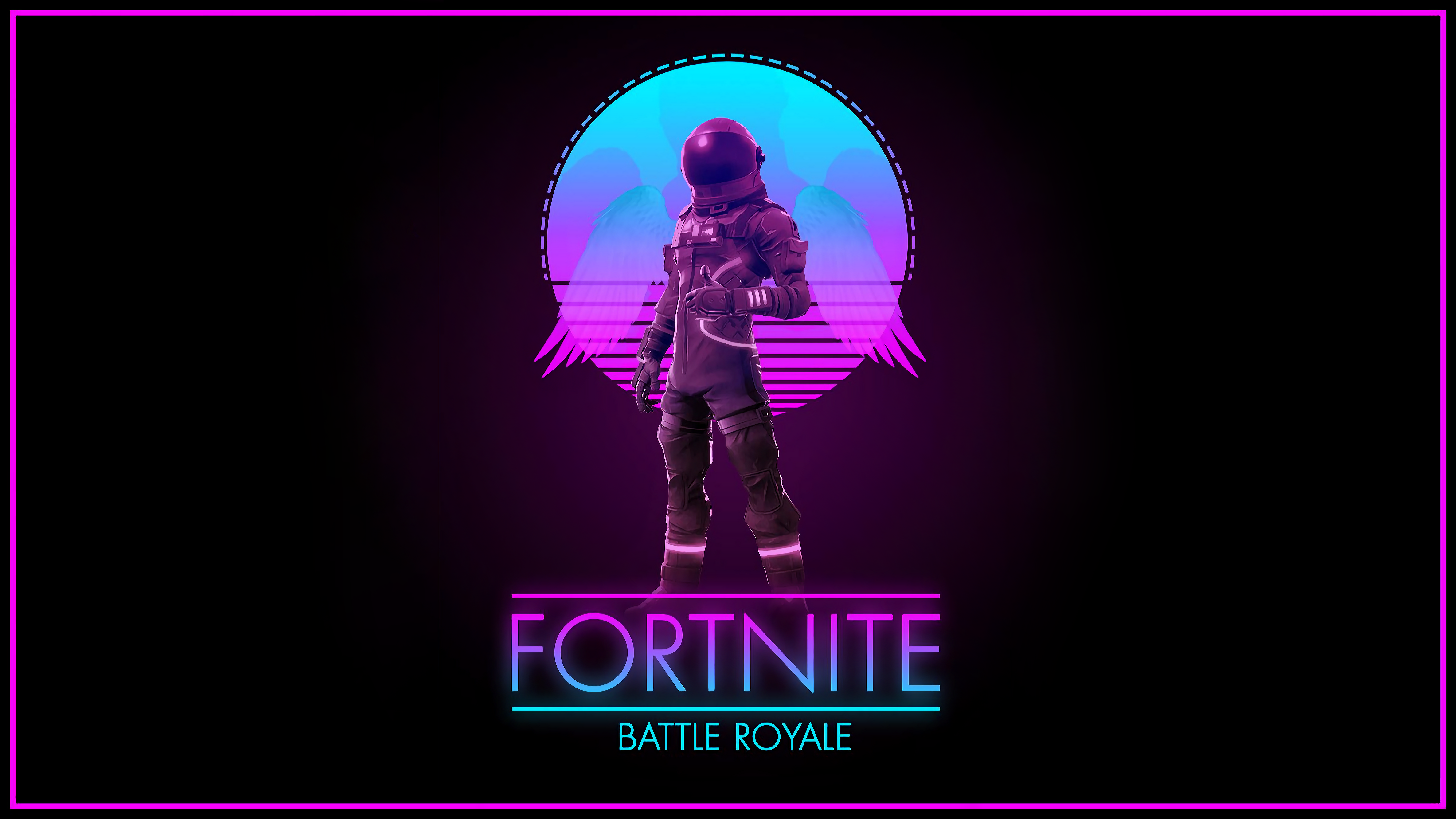 Fortnite Synthwave Royale Dodonozore34 4740x2666 Wallpapers