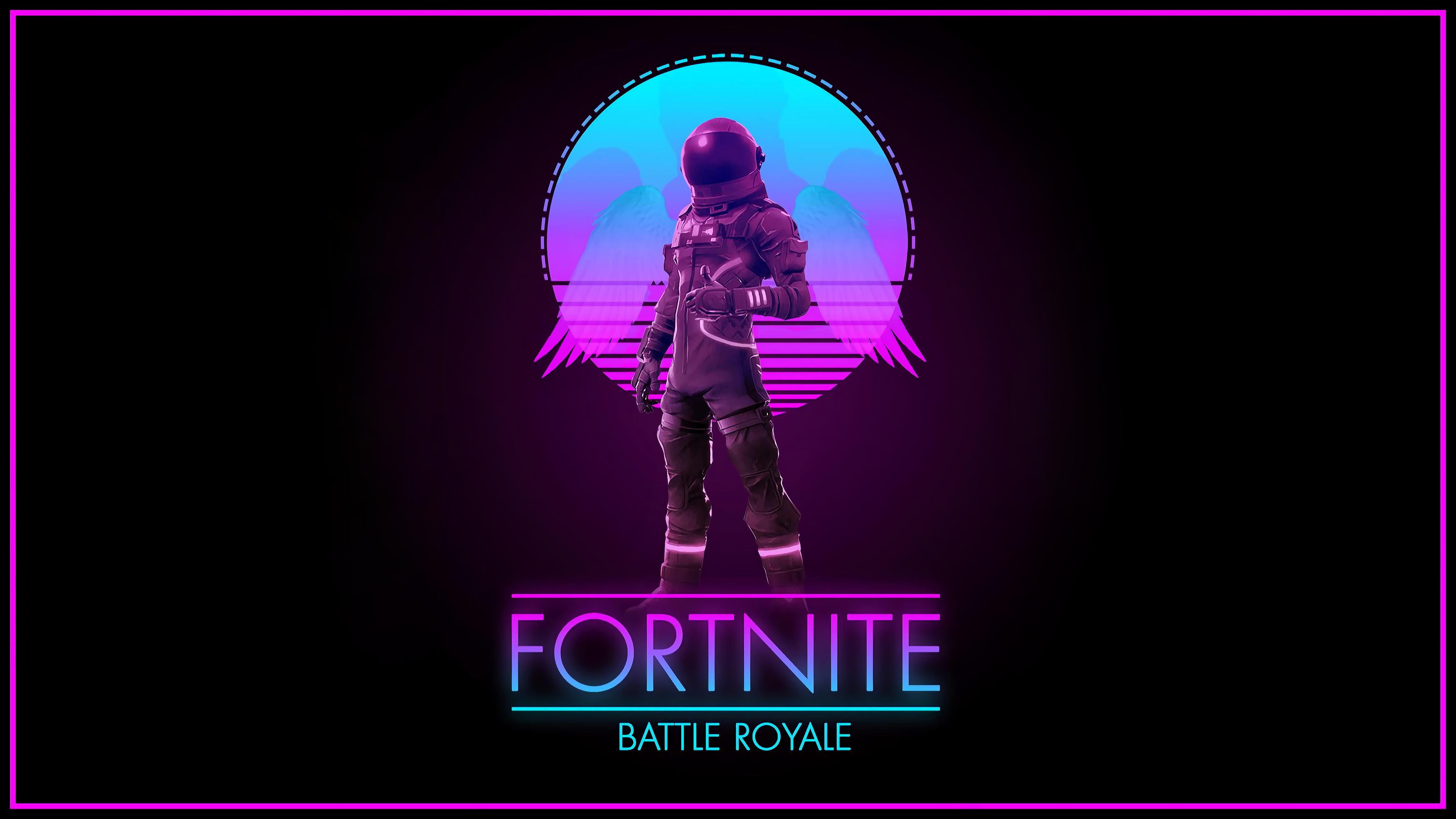 Fortnite - Synthwave Royale (Dodonozore34) [4740x2666]