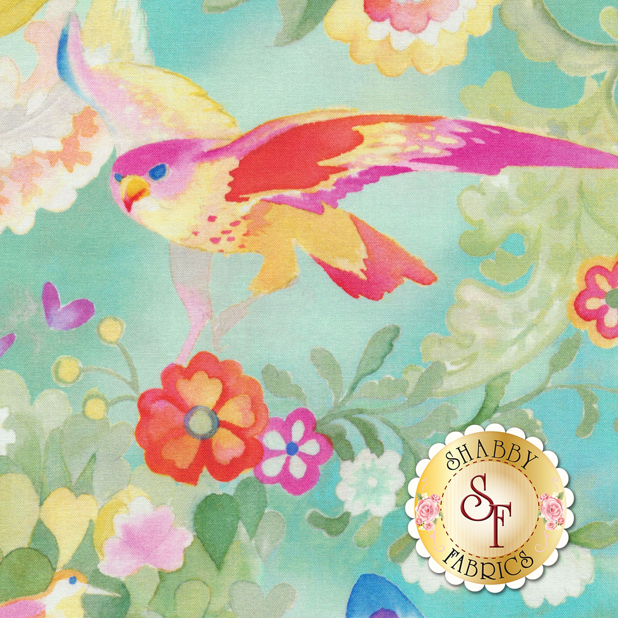 Flights of Fancy 33460-13 by Moda Fabrics #birdfabric