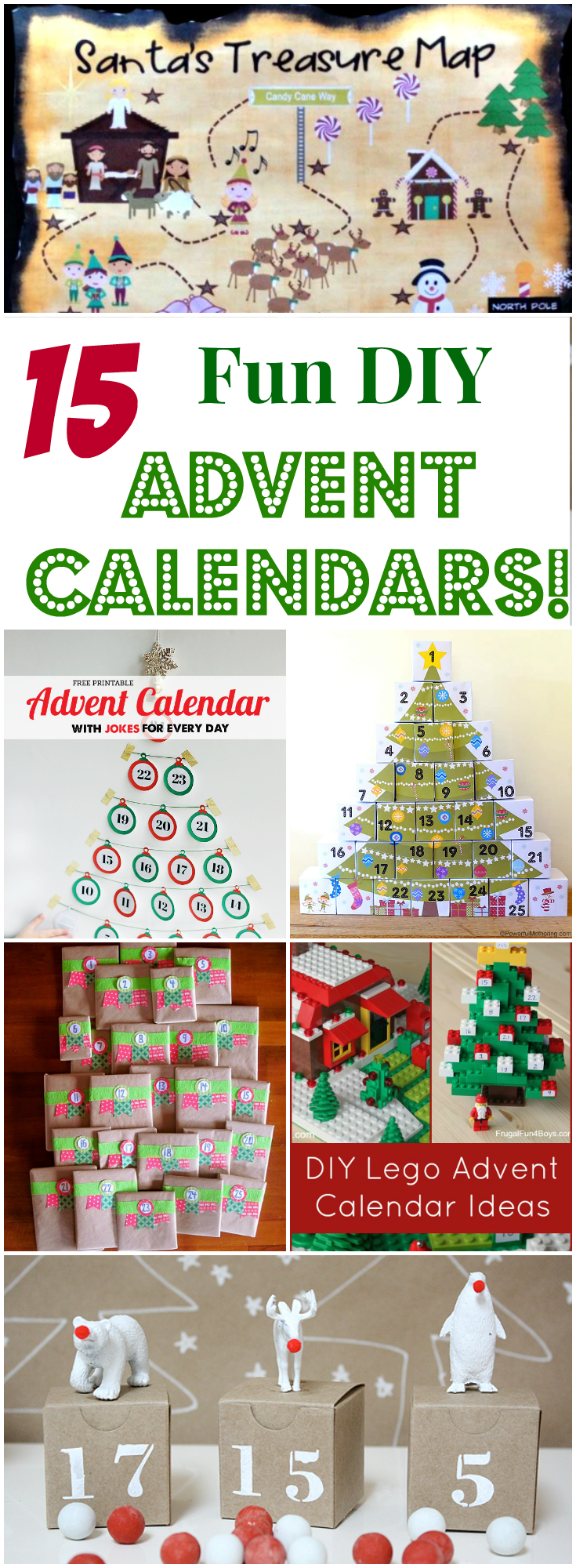 15 Fun DIY Advent Calendars for Kids