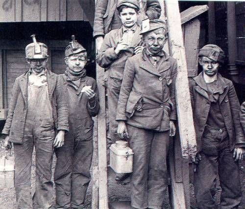 Child Labor #miners | labor history- workers' rights | Pinterest ...