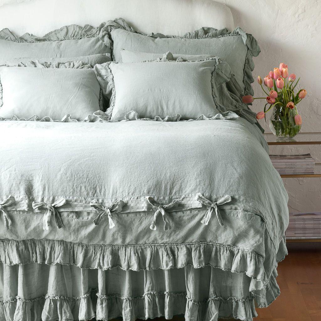 Bella Notte Linens Linen Whisper Duvet in 2020 Luxury