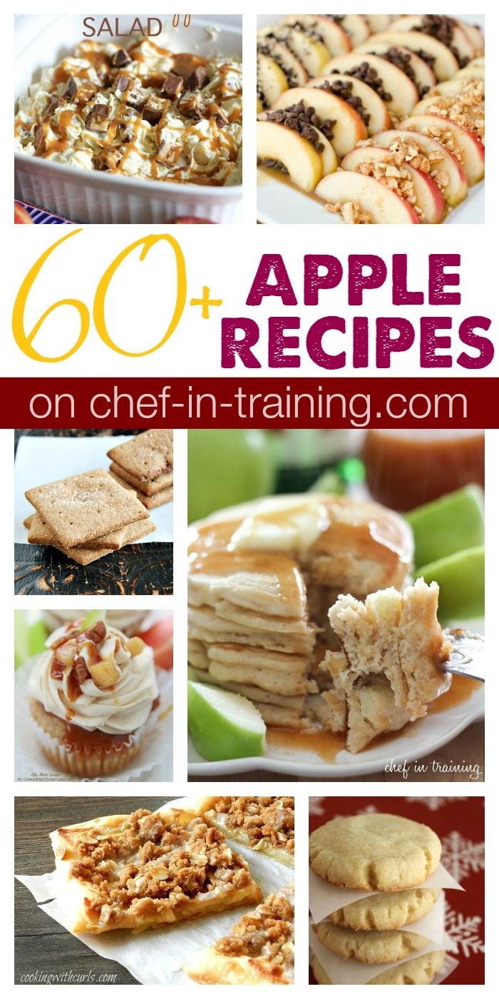 60+ Fall Apple Recipes #applerecipes