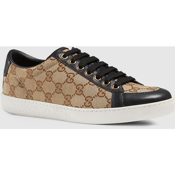 c2ecfc434fd7 Gucci Brooklyn Original Gg Canvas Lace-Up Sneaker (6 410 ZAR) ❤ liked
