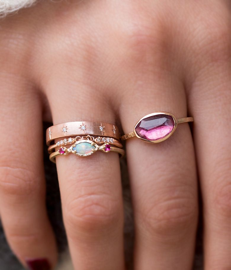 audrey daily what best images s fashion your jewelry with pinterest malkaravina rings style stacking gold discover us loveaudryrose audry rose on it