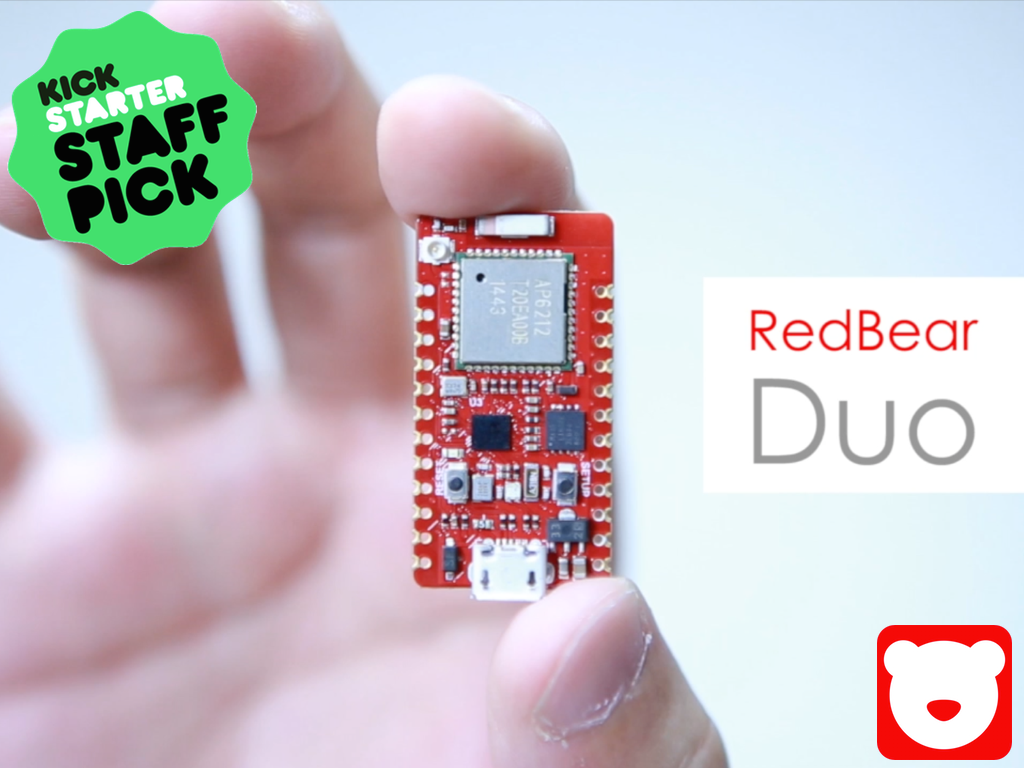 RedBear Duo: A small and powerful Wi-Fi + BLE IoT board project ...