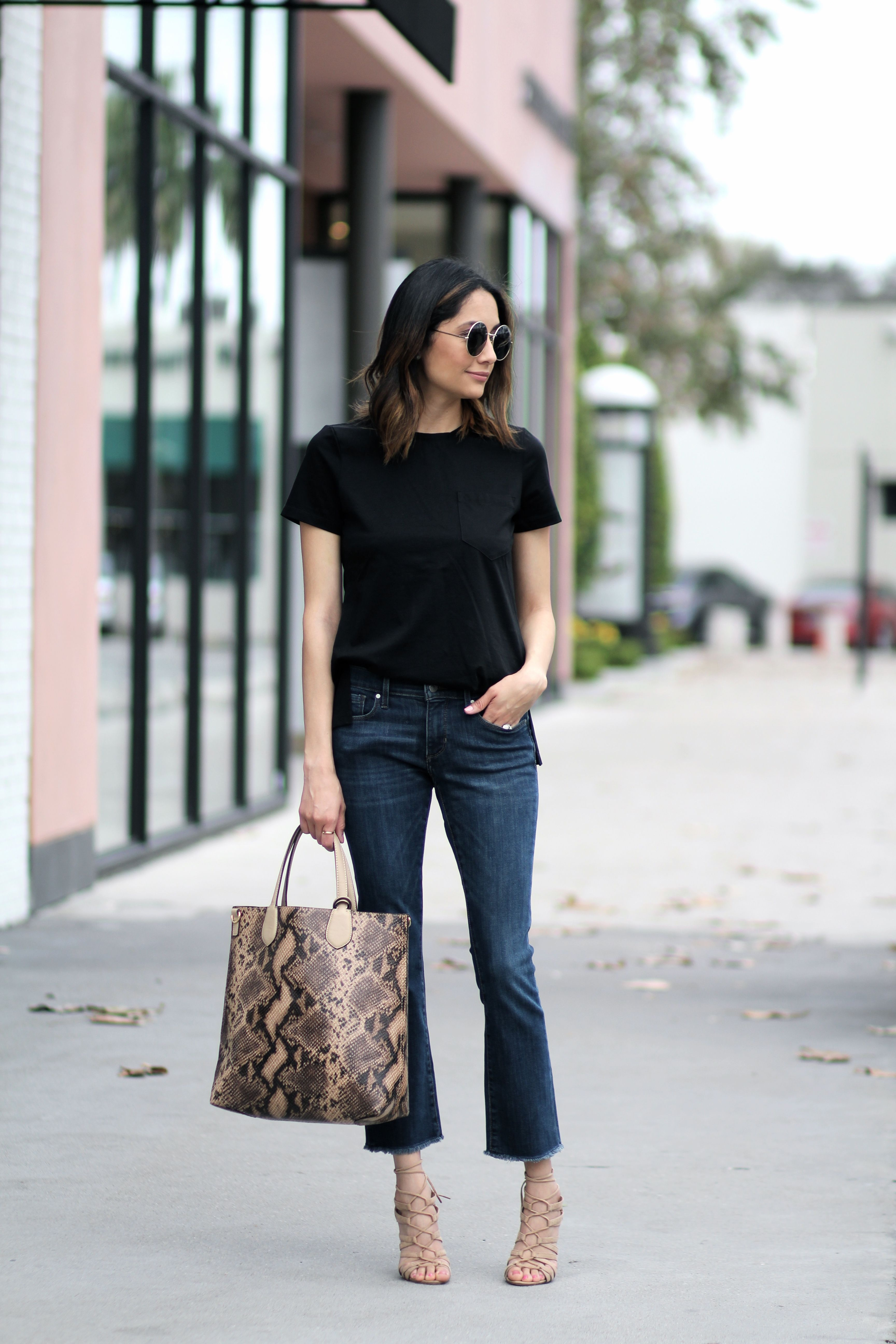 Cropped Flares | FAB FEMALE BLOGGERS | Cropped jeans ...