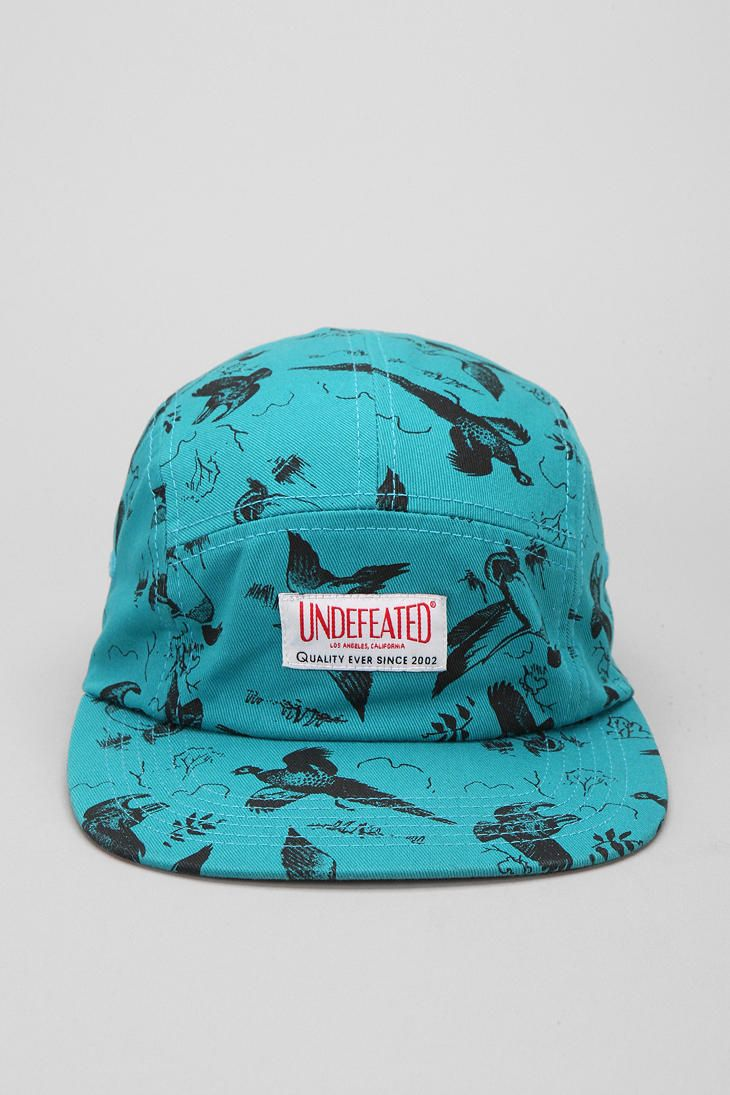 07c1d10291 Undefeated Duck 5-Panel Hat | Caps | 5 panel hat, Hats, Urban outfitters