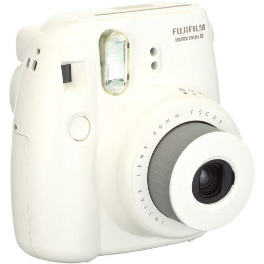 Amazon Com Fujifilm Instax Mini 8 Instant Film Camera White