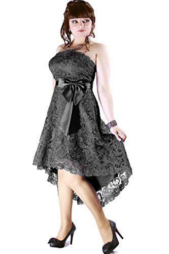 Kleid Dress Damen Spitzenkleid Abendkleid Kurz Partykleid ...