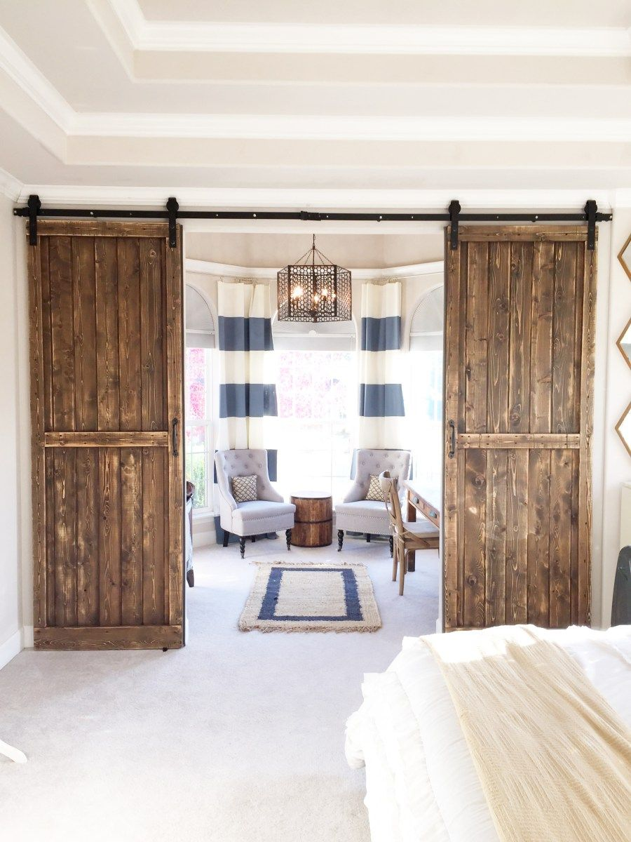 Master bedroom addition  Our Barn Door Bedroom Addition  Master bedroom  Pinterest  Barn