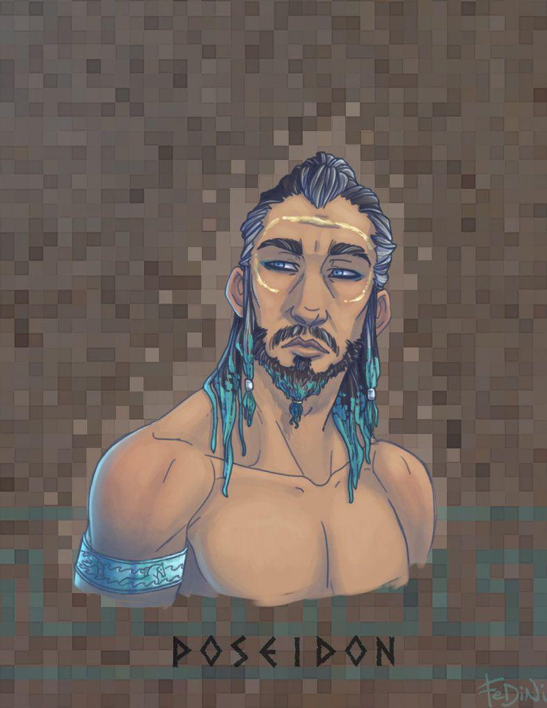 Olympians: Poseidon by Fedini on DeviantArt