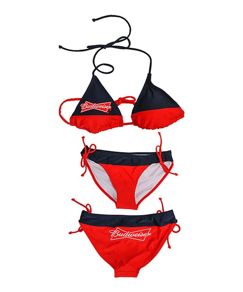 Are budweiser string bikini