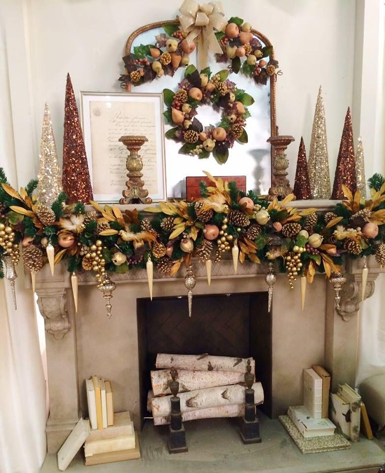 White Christmas Mantel Ideas: Christmas: Lisa Robertson