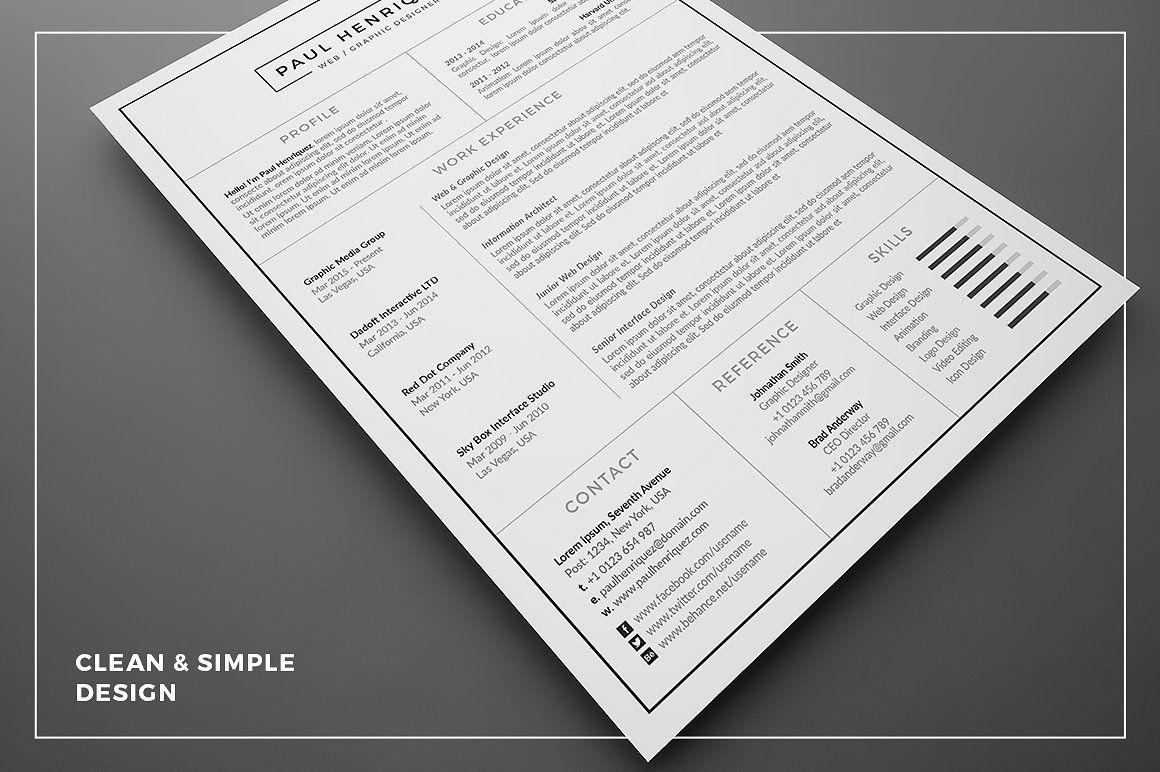 Resume/CV PH Resume cv, Resume, Cover letter template