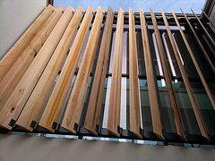 Wooden Elliptical Brise Soleil Nlc Brise Soleil Tags Weather Soleil Louvre Architectural Triang Revestimento De Casa Revestimento Madeira Brise De Madeira