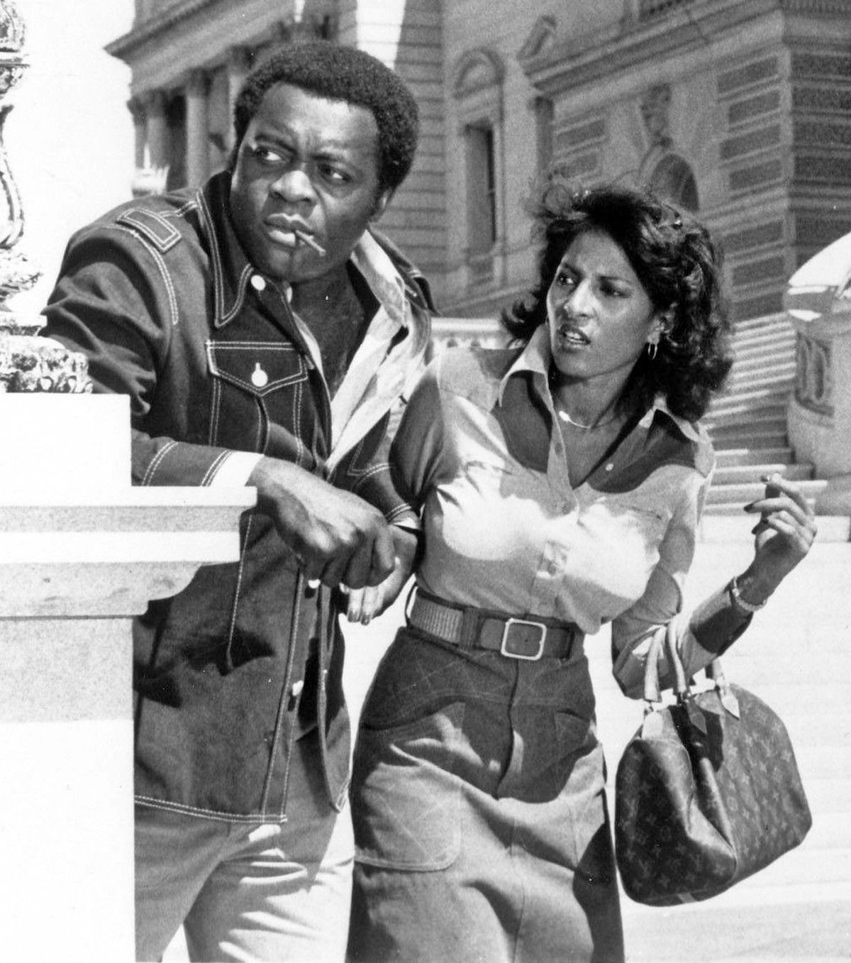 Pam Grier with Yaphet Kotto - Friday Foster (1975