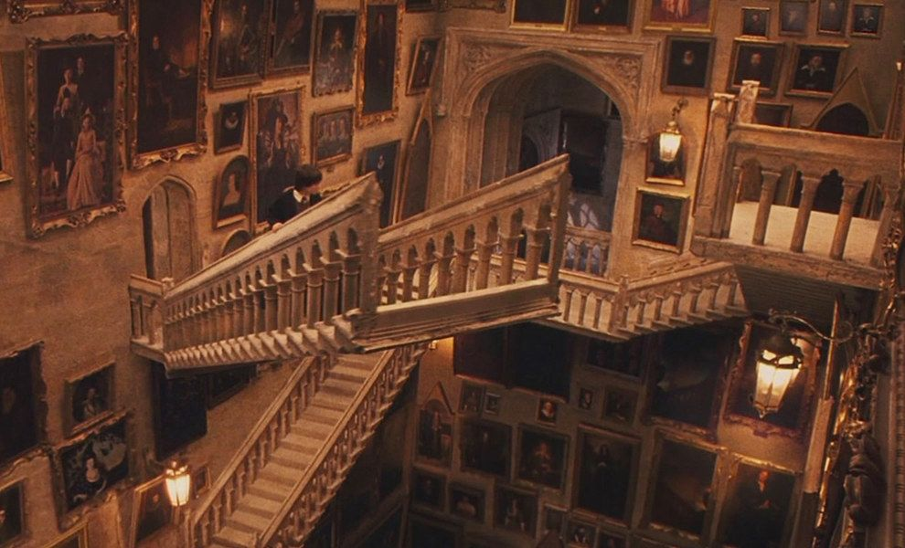 Harry Potter Staircase : Reasons growing up at hogwarts ruins you for life