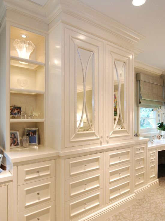Best Painted Built In Cabinets Traditional Bedroom San 640 x 480