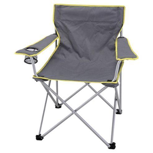 Fabulous Tesco Folding Camping Chair Grey Camping Camping Chairs Machost Co Dining Chair Design Ideas Machostcouk