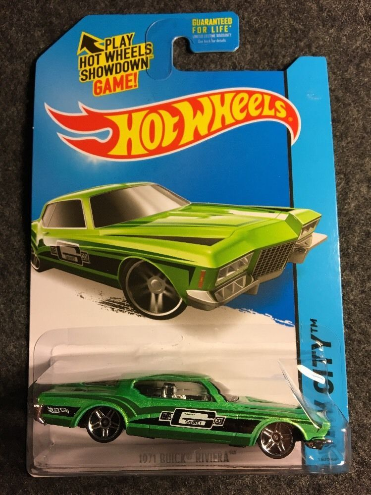 Hot Wheels 1 64 Scale Hw City 2015 1971 Buick Riviera 15 250 2013 3 Buick Riviera Hot Wheels Buick